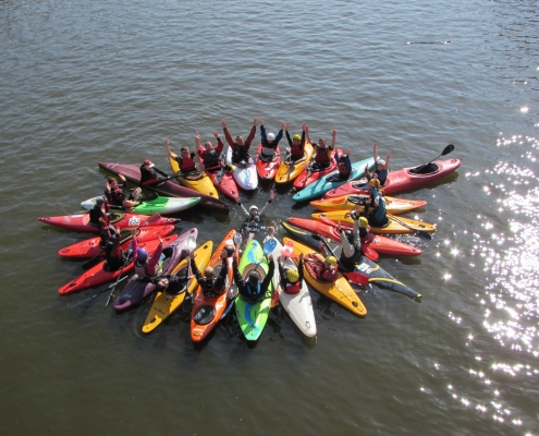 Etoile de kayaks