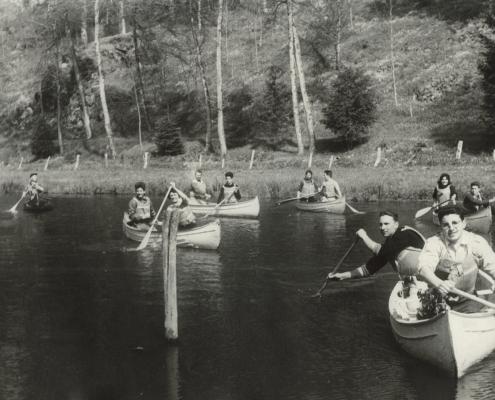 Initiation canoë sur la Mayenne