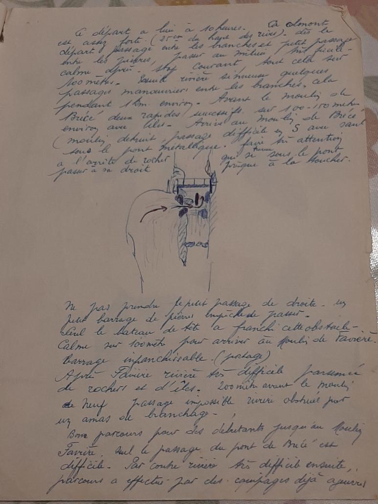 Exemple d'un journal de sortie