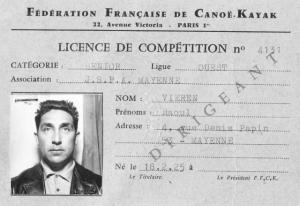 Licence de Raoul Vieren