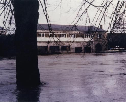 Vu du club - crue de 1995
