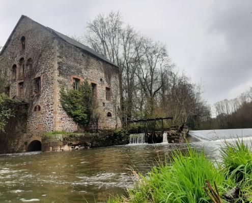 Barrage de Brive - Ancien moulin