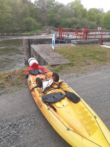 Descente du kayak
