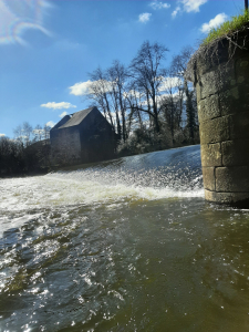 Brives - Barrage et moulin