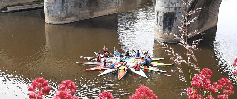Stage jeunes 2021 au pont McRacken