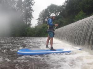 Landry au barrage de Bas Hambers