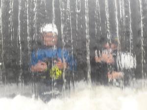 Landry et Jade au barrage de Bas Hambers