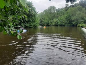 Premier saut pour le kayak