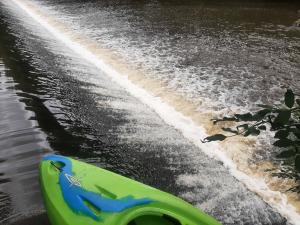 Rappel du barrage de Brives