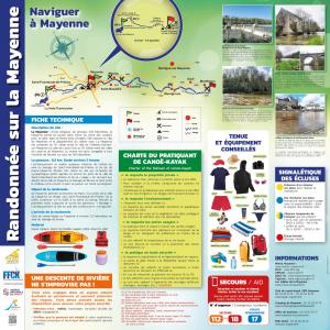 Panneau naviguer à Mayenne