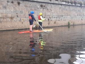 Stand up paddle sur la Mayenne
