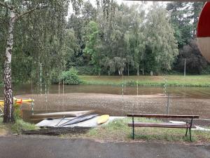 Résidus des canalisations d'eaux pluviales